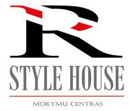 RStyleHouse_mokymu centras logo